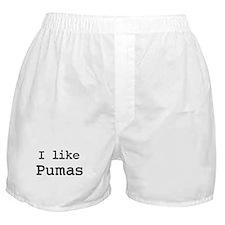 I like Pumas Boxer Shorts