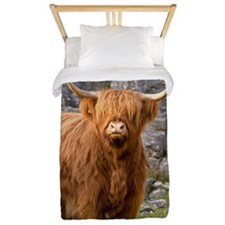 Highland cow Twin Duvet