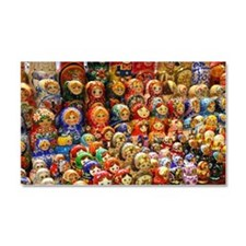 Matryoshka doll from Russia Car Magnet 20 x 12