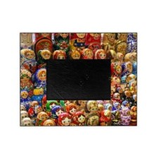 Matryoshka doll from Russia Picture Frame
