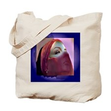 Transformation behind The Mask Tote Bag