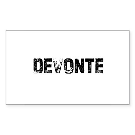 Devonte Rectangle Sticker