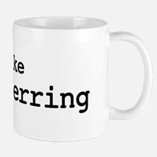 I like Round Herring Mug