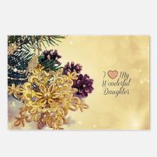 I Love My Wonderful Daugh Postcards (Package of 8)