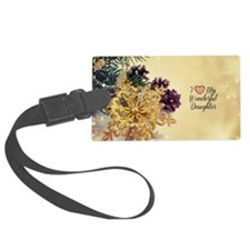 I Love My Wonderful Daughter - h Luggage Tag