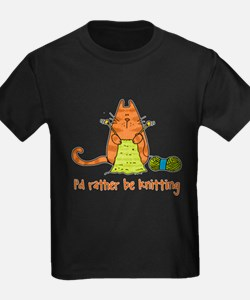 Rather be knitting T