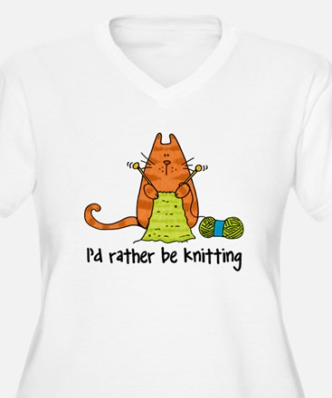 Rather be knitting T-Shirt