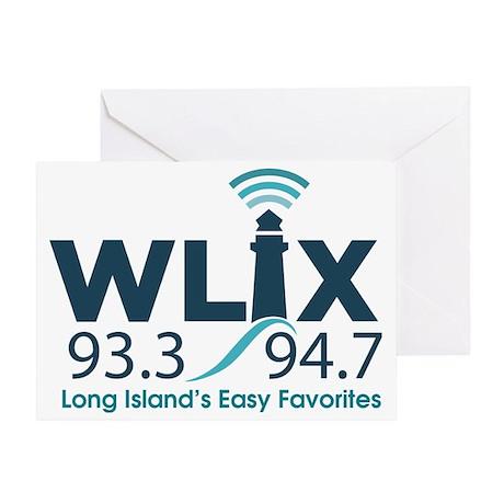 WLIX 93.3/94.7 Greeting Card