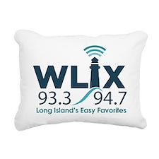 WLIX 93.3/94.7 Rectangular Canvas Pillow