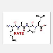 Kate molecularshirts.com Postcards (Package of 8)