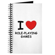 I love role-playing games Journal