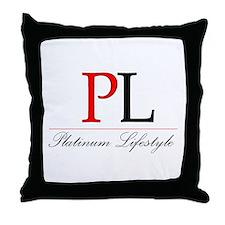 Platinum Lifestyle Throw Pillow