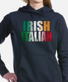 IRISH ITALIAN (blk) T-Shirt Sweatshirt