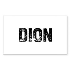 Dion Rectangle Decal