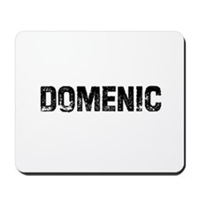 Domenic Mousepad