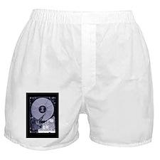 Computer hard disk, simulated X-ray Boxer Shorts