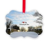 Son Picture Frame Ornaments