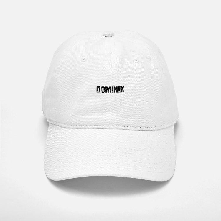 Dominik Baseball Baseball Cap