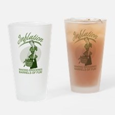 Inflation Drinking Glass
