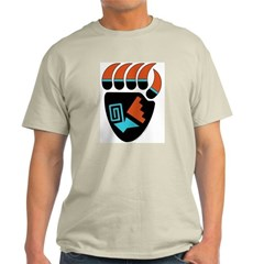 Hopi-Style Bear Paw T-Shirt