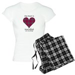 Heart-MacCulloch.MacCulloug Women's Light Pajamas