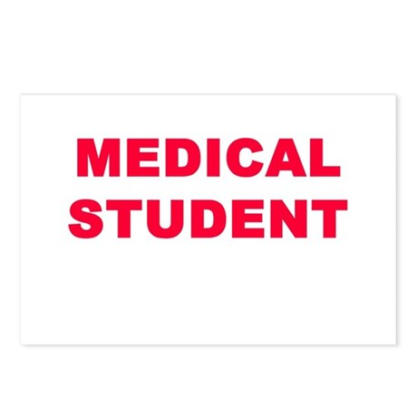 MEDICAL STUDENT Postcards (Package of 8)