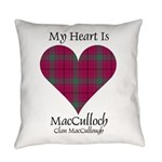 Heart-MacCulloch.MacCullough Everyday Pillow