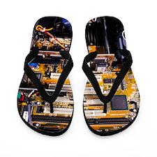 Computer interior Flip Flops