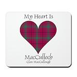 Heart-MacCulloch.MacCullough Mousepad