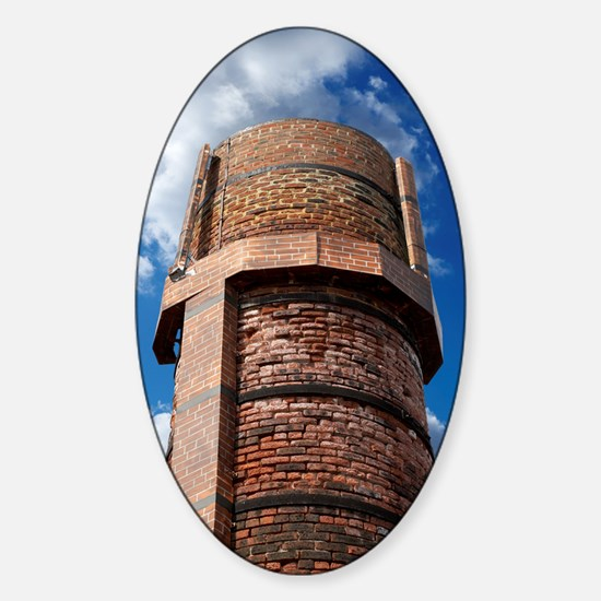 Concealed mobile phone mast Sticker (Oval)