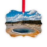Yellowstone Picture Frame Ornaments