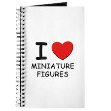 I love miniature figures Journal