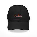Inner Geek Girl Black Cap