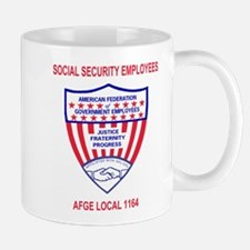 AFGE Coffee Cup 4 For AFGE Local 1164