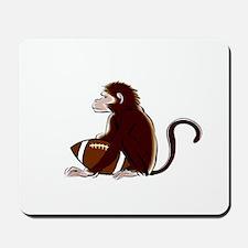 Football Monkey Mousepad