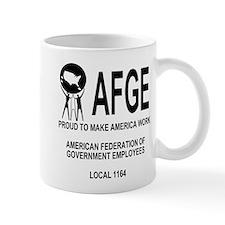 AFGE Coffee Cup 3 For AFGE Local 1164
