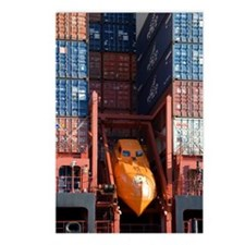 Container ship lifeboat Postcards (Package of 8)