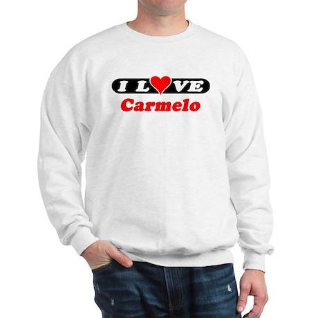 I Love Carmelo Sweatshirt