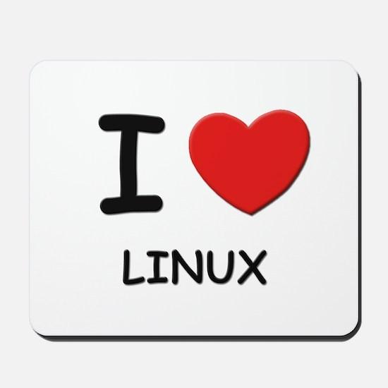 I love linux  Mousepad