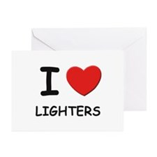 I love lighters  Greeting Cards (Pk of 10)