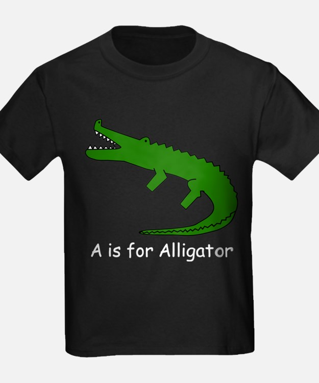 A is for Alligator T