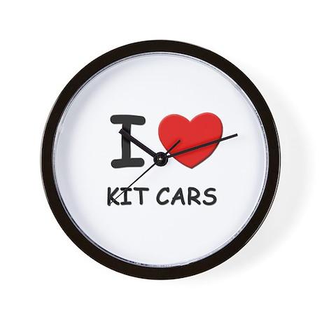 I love kit cars Wall Clock