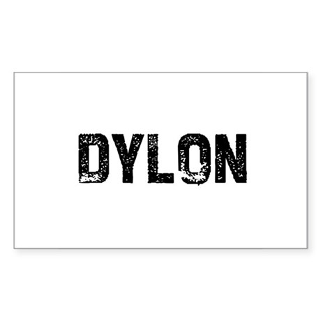 Dylon Rectangle Sticker
