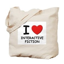 I love interactive fiction Tote Bag