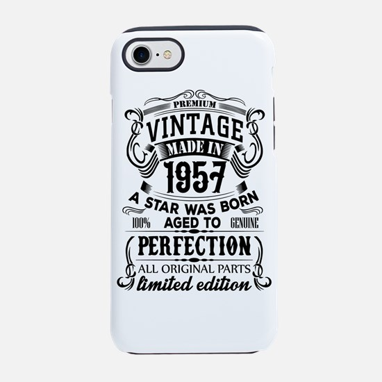 Vintage 1957 iPhone 7 Tough Case