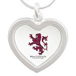 Lion-MacCulloch.MacCullough Silver Heart Necklace