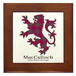 Lion-MacCulloch.MacCullough Framed Tile