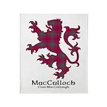 Lion-MacCulloch.MacCullough Throw Blanket