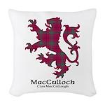 Lion-MacCulloch.MacCullough Woven Throw Pillow