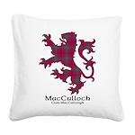 Lion-MacCulloch.MacCullough Square Canvas Pillow